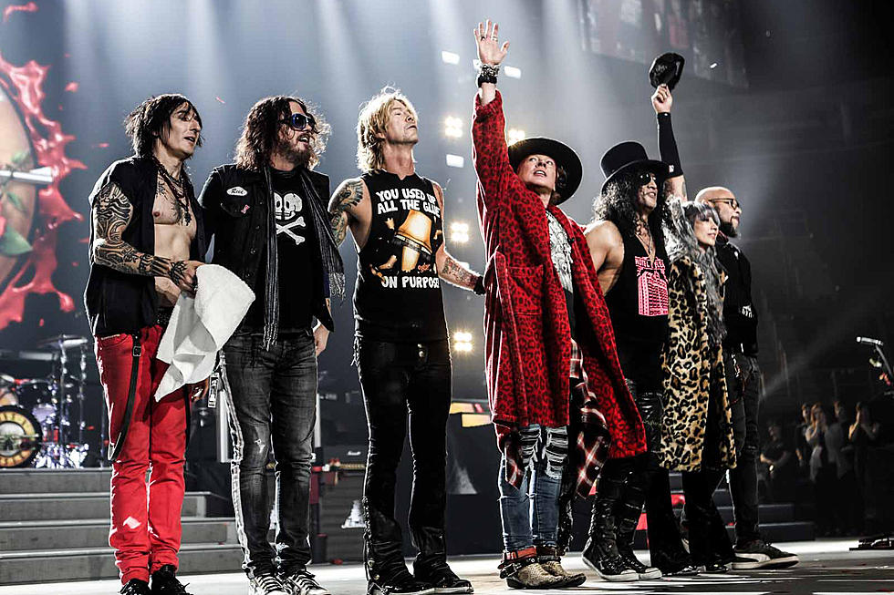 Guns N' Roses will extend their top-grossing Not in This